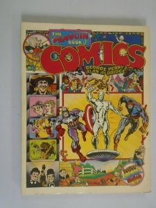 Penguin Book of Comics TPB SC 6.0 FN price tag on rear (1971 Revised Edition)
