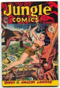 Jungle Comics #102 1948- Matt Baker- Kaanga G