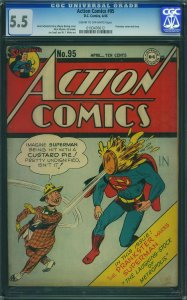 Action Comics #95 (1946, DC) CGC 5.5
