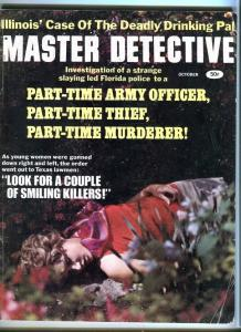 MASTER DETECTIVE-OCT/1968-MOBSTER O'BANION-COP KILLERS-SMILING KILLERS G