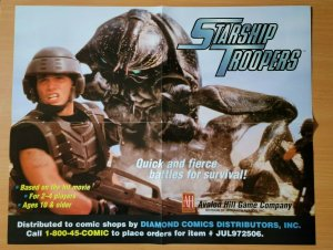 21 x 17 Starship Troopers Movie Promo Poster NO PIN HOLES NEW