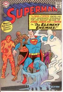 SUPERMAN 190 VG   October 1966 COMICS BOOK