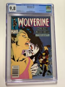 Wolverine 15 Cgc 9.8 Newsstand Edition Marvel X-men