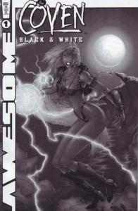 Coven Black and White #1 FN; Awesome | save on shipping - details inside