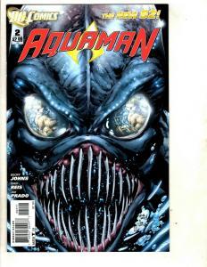 Lot of 8 Aquaman DC Comic Books # 2 3 4 5 6 7 8 9 Batman Flash Superman RP1