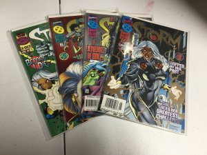 Storm 1-4 Nm Near Mint Marvel Comics