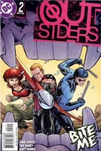 Outsiders (2003 series) #2, NM (Stock photo)
