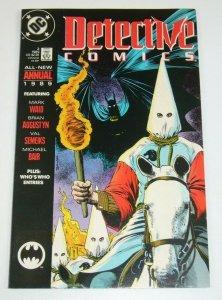 BATMAN vs KU KLUX KLAN VF detective comics ANTI-KKK detective comics annual 2