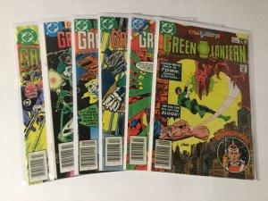 Green Lantern 144 145 147 148 149 150 Lot Fn-vf Fine-very Fine 6.0-8.0 Dc