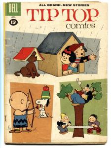 TIP TOP COMICS 224-1961-APRIL-PEANUTS  G