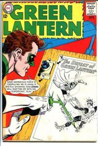 GREEN LANTERN #19 1963-SONAR-INKING BOARD-DC COMICS G