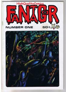 FANTAGOR #1, FN+, DEN, Richard Corben, Heavy Metal, 1970, more in store (c)