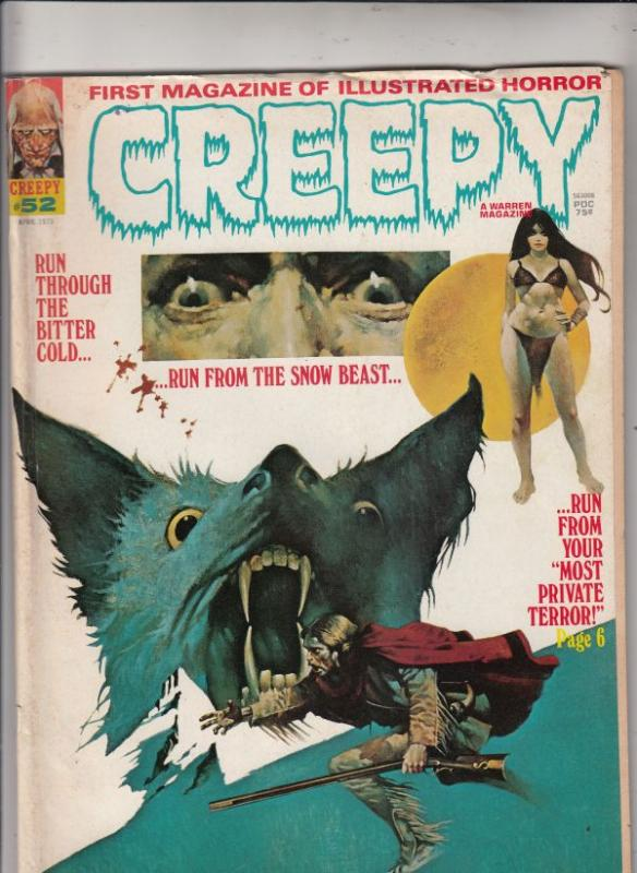 Creepy Magazine #52 (Apr-73) FN Mid-Grade