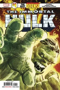 Immortal Hulk: The Best Defense #1, NM (Stock photo)