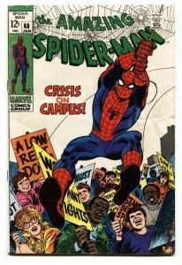 Amazing Spider-Man #68 1969-Marvel Silver Age VG