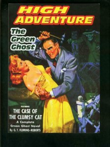 HIGH ADVENTURE #77-GREEN GHOST PULP REPRINTS-CASE OF CLUMSY CAT-TPB VF/NM