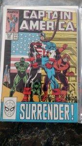 Captain America #345 (Marvel,1988) Condition NM