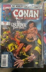 CONAN - THE USURPER PT 1  # 1 1997 MARVEL CHUCK DIXON THE BARBARIAN