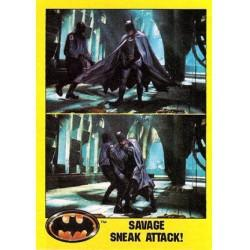 1989 Batman The Movie Series 2 Topps SAVAGE SNEAK ATTACK #182