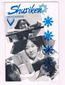 Shuriken #5 VF Victory Comic Book 1986 DE16