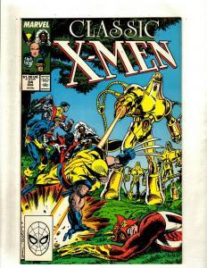 Lot of 12 Classic X-Men Marvel Comics #24 25 26 27 28 29 30 31 38 40 43 44 HY3
