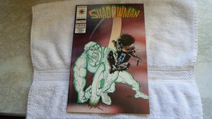 1994 VALIANT CONICS SHADOWMAN # 25 ( with valiant era card inside )