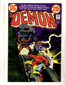 The Demon # 5 VF DC Bronze Age Comic Book Jack Kirby Fourth World FM2