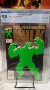 Hulk #377 - CBCS 9.8 - 2nd Print - 1st Professor Hulk! Hard find in this grade!