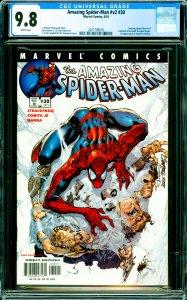 Amazing Spider-Man #v2 #30 CGC Graded 9.8 1st appearance of Ezekiel & Morlun.