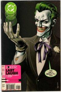 Joker: Last Laugh #1 (2002) VF/NM Brian Bolland Cover DC