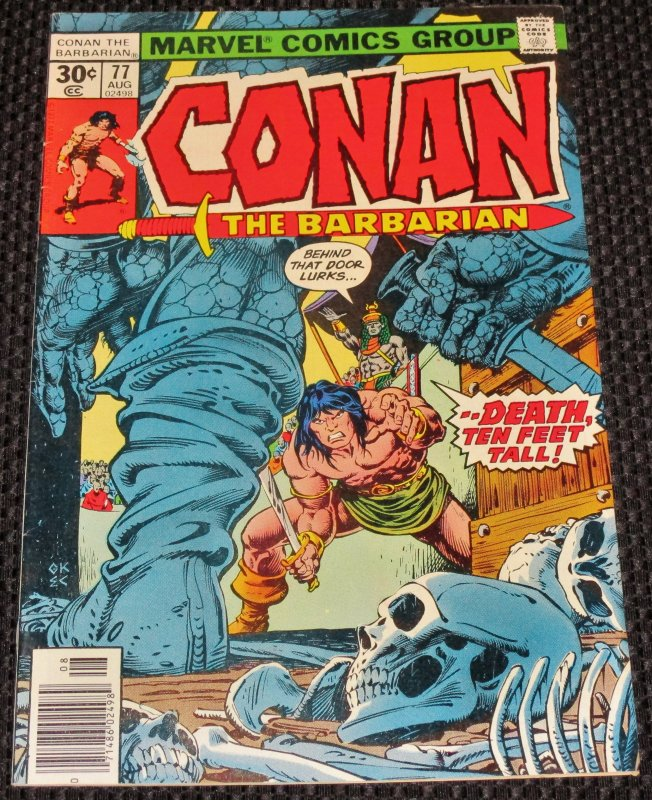 Conan the Barbarian #77 (1977)