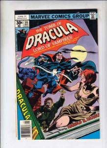 Tomb of Dracula #56 (May-77) FN Mid-Grade Dracula