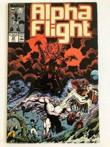 Alpha Flight #58 Marvel 1988 VF+