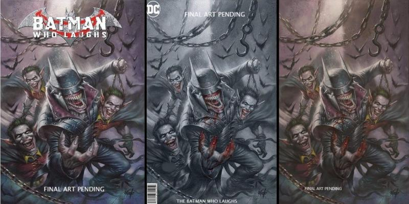 Batman Who Laughs #1 Parrillo Virgin Blood Variant set NM/ IN STOCK 3 Book set