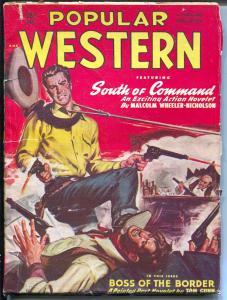 Popular Western 12/1948-Thrilling-gunfight cover-El Condor-Wheeler-Nicholson-VG