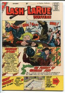 LASH LARUE  #74-1959-CHARLTON-PETE MORISI ART-vf minus