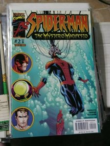 SPIDER-MAN THE MYSTERIO MANIFESTO # 2 2001 MARVEL COMICS  FAR FROM HOME
