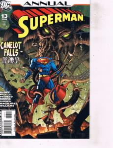 Lot Of 2 DC Comic Books Annual Superman #13 and #14 Batman Flash  LH6
