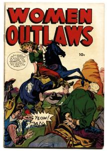 WOMEN OUTLAWS nn-SPICY HEADLIGHT COVER-1949 nice copy