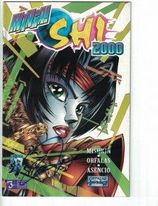 Manga Shi 2000 #3 VF signed by William (Bill) Tucci - Crusade Comics - Tomoe