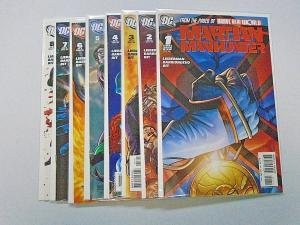 Martian Manhunter set #1 to #8 - 3rd Third Series - see pics - 8.0 - 2006