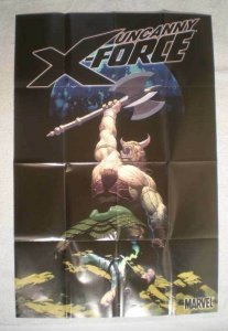 UNCANNY X-FORCE Promo Poster, Wolverine, 24x36, Unused, more Promos in store