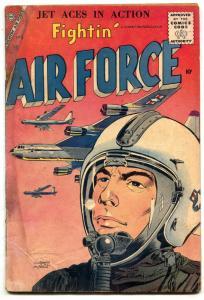 Fightin' Air Force #6 1957- Charlton War comic- F/G