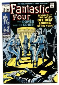 FANTASTIC FOUR #87 comic book 1969 -JACK KIRBY-MARVEL