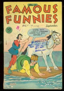 FAMOUS FUNNIES #134 1945-BUCK ROGERS-GEORGE CARLSON ART VG