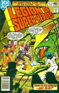 Legion of Super-Heroes, The (2nd Series) #260 FN; DC | save on shipping - detail