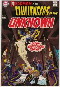 Challengers of the Unknown #74 (Jul-70) NM- High-Grade Challengers of the Unk...