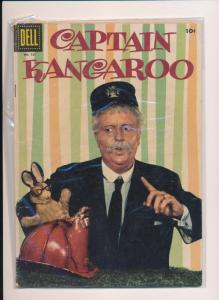Dell Comics CAPTAIN KANGAROO #721  G/VG (SRU492)