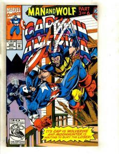 12 Cap America Comics Wolf 404 405 410 411 412 (1) 413 444 Annual 5 7 9 11 EK13