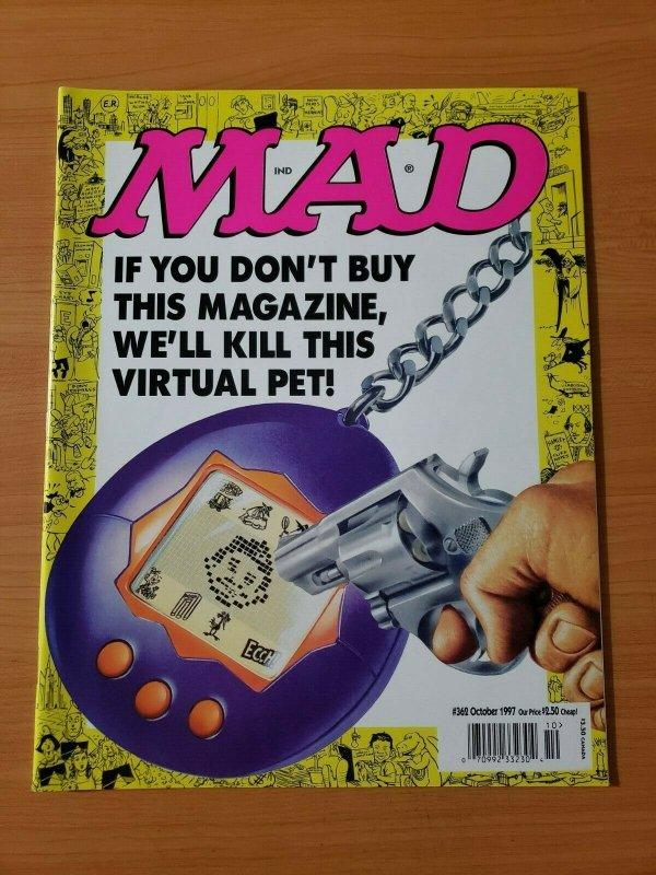 Mad Magazine #362 ~ NEAR MINT NM ~ October 1997
